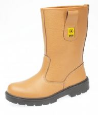 FS124 AMBLERS TAN SAFETY BOOT